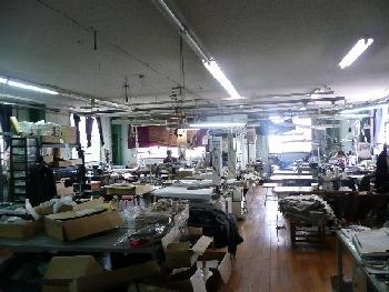 ニシキ 本社工場の写真です。中庄にも工場があります。